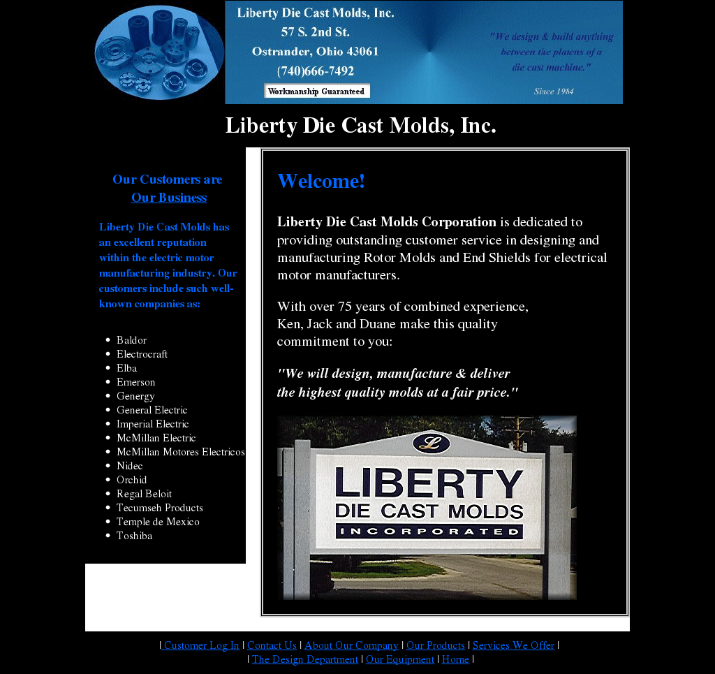 Liberty Die Cast Molds Competitors, Revenue and Employees - Owler