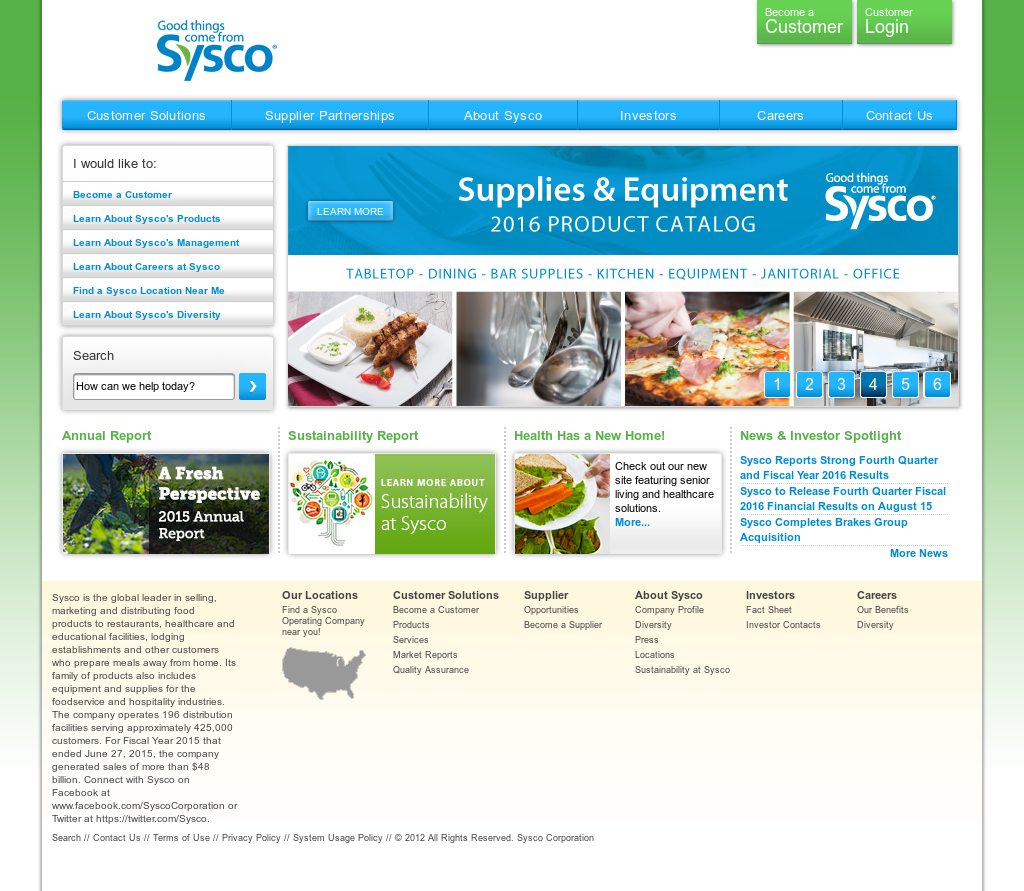 Sysco Competitors, Revenue and Employees - Owler Company Profile