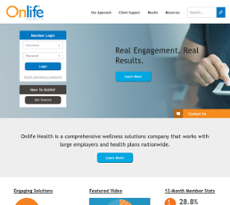 Onlife Health website history