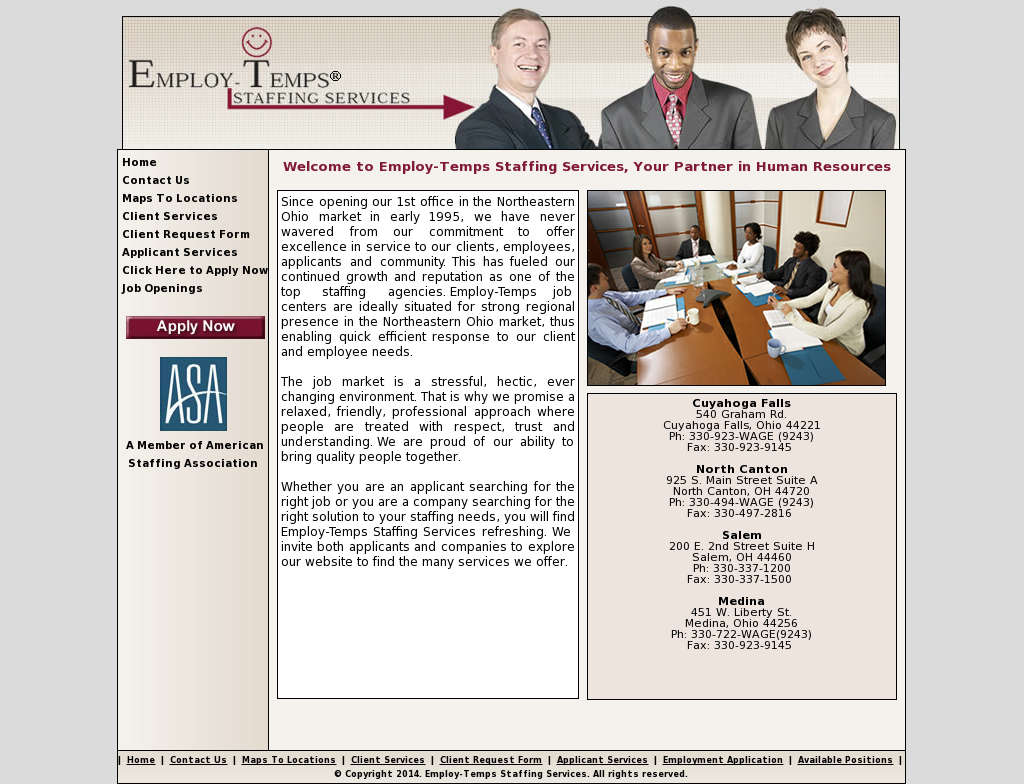 employ temps competitors revenue and employees owler company profile