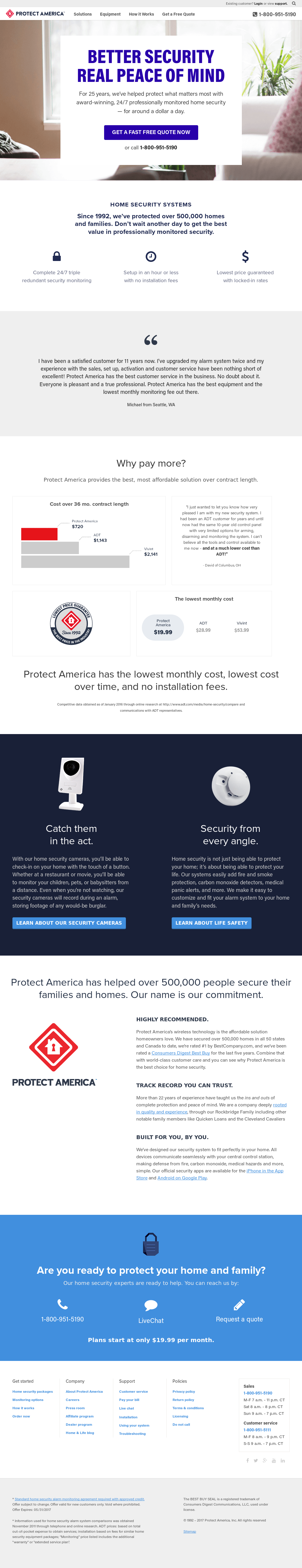 Protect America Competitors, Revenue and Employees - Owler Company ...