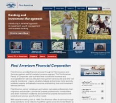 First American website history