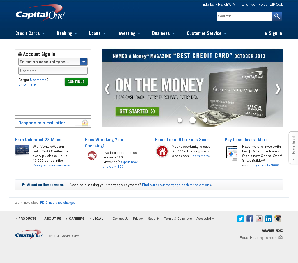 capital one credit card payment charlotte nc