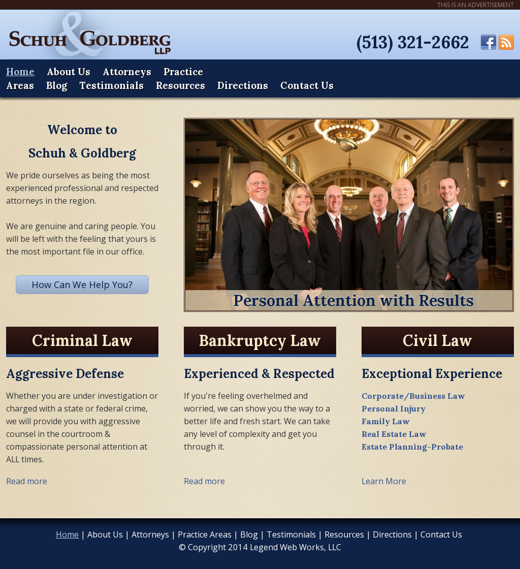 Law Offices of Schuh & Goldberg Competitors, Revenue and