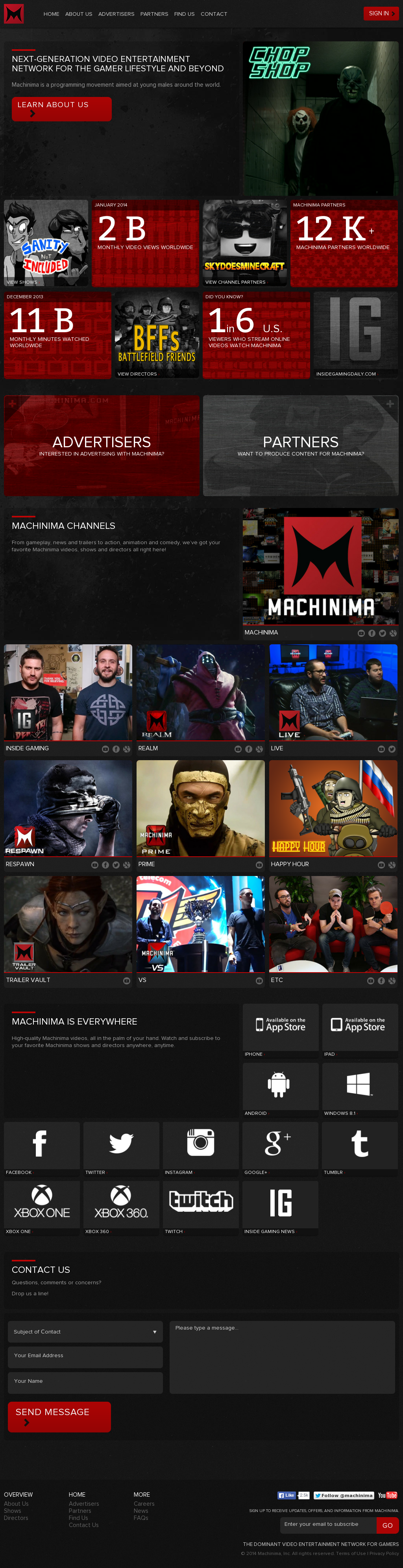 Machinima Competitors, Revenue and Employees - Owler Company