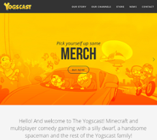 Yogscast website history