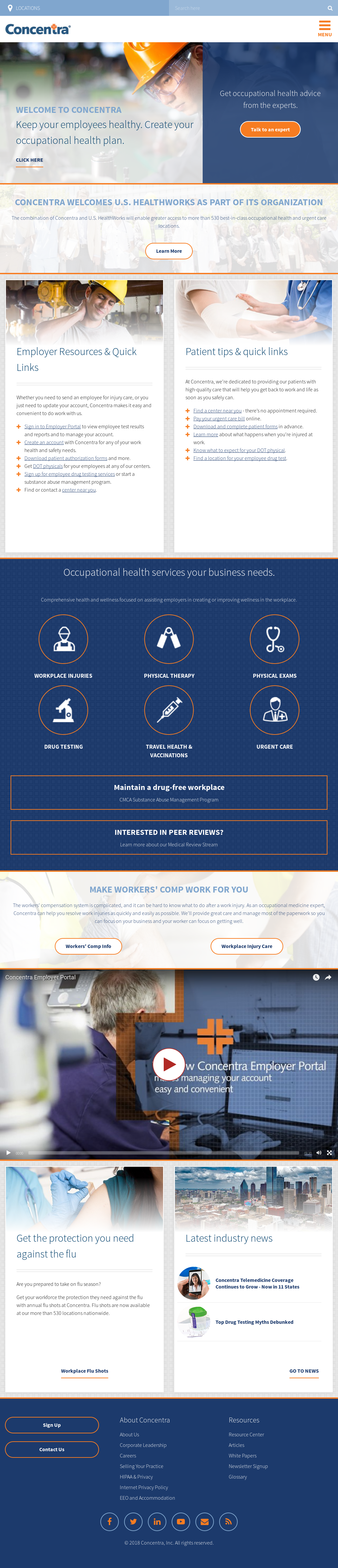 Concentra Competitors, Revenue and Employees - Owler Company Profile