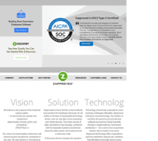 Zapproved website history