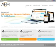 AHM website history