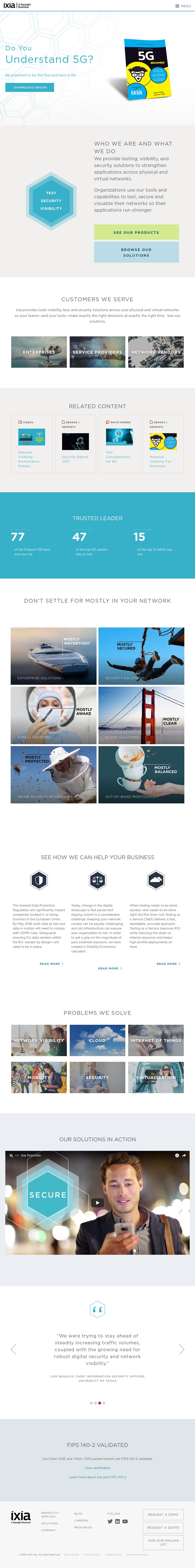 Ixia Competitors, Revenue and Employees - Owler Company Profile