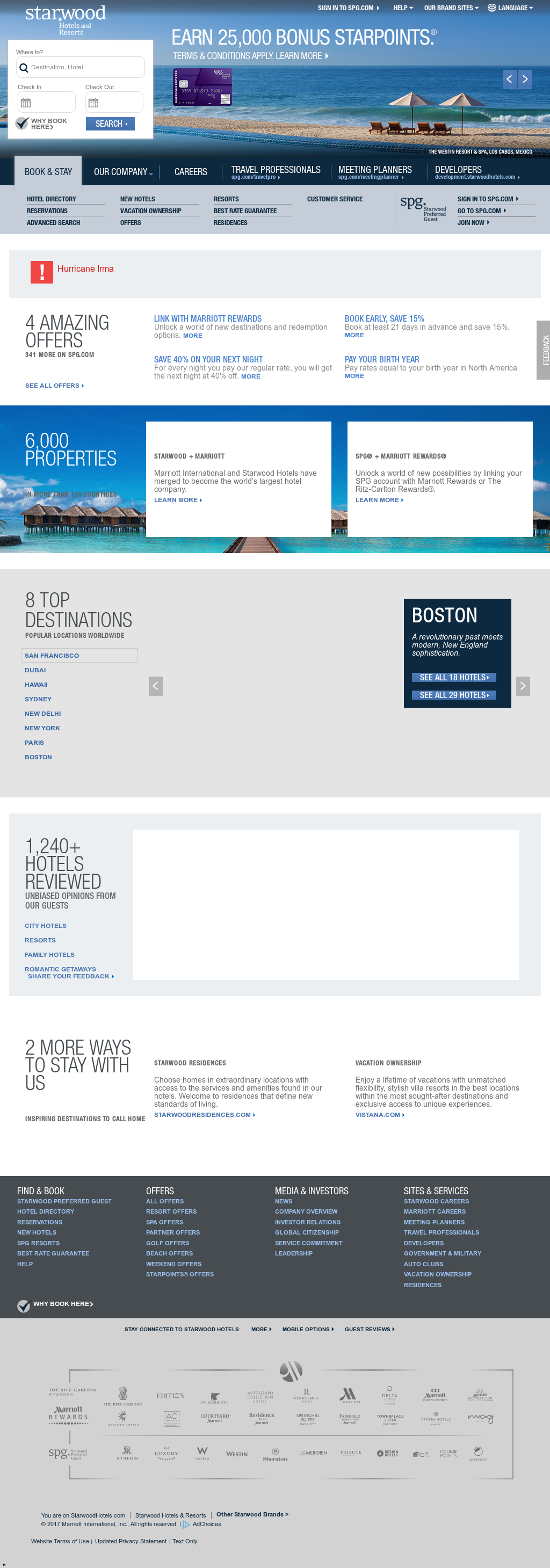 starwood hotel profile View past media spend, key contact information, the agency of record, and more for starwood hotels & resorts worldwide, inc, at redbooks.