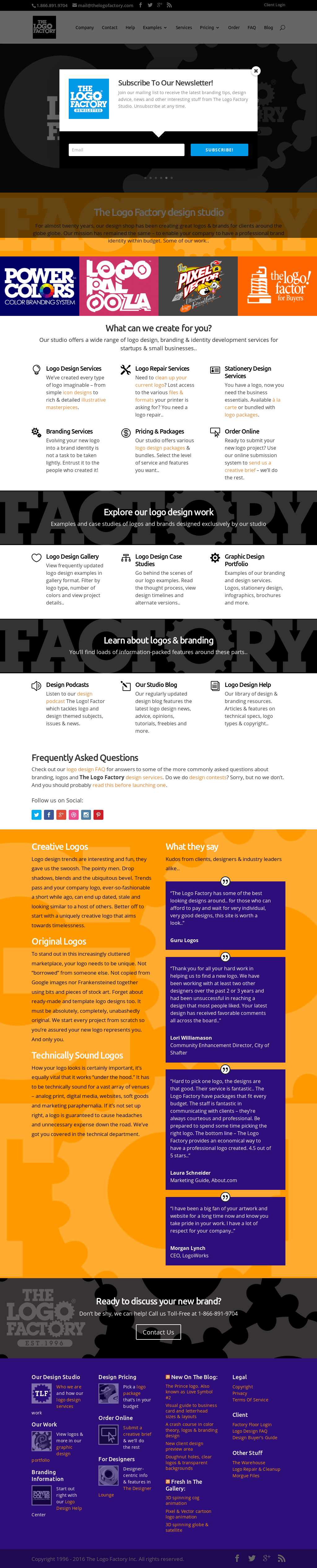 The Logo Factory Competitors, Revenue and Employees - Owler Company