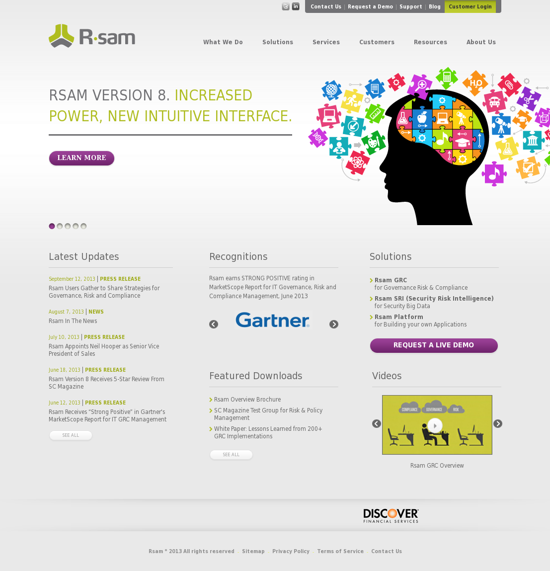 Rsam Competitors, Revenue and Employees - Owler Company Profile