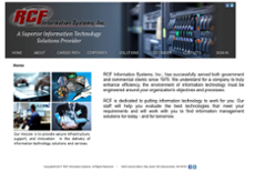 RCF Information Systems website history