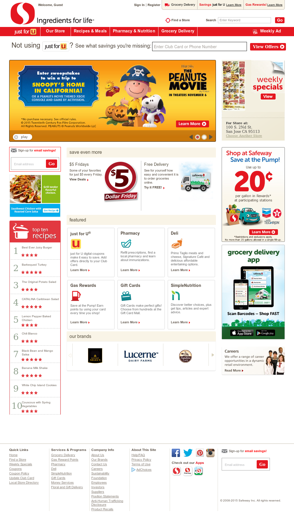 Safeway Competitors, Revenue and Employees - Owler Company Profile