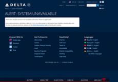Delta website history