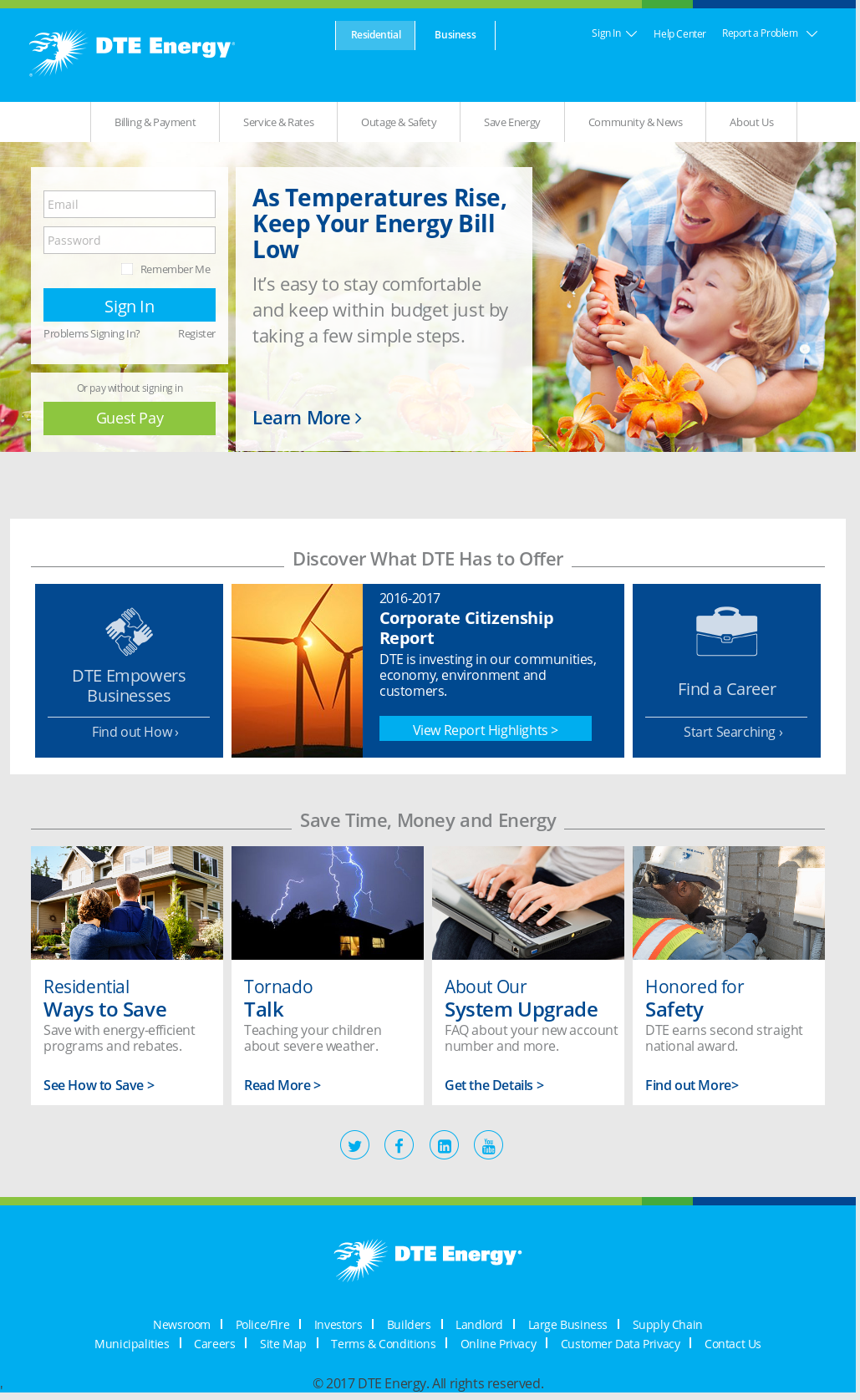 Dte Energy Online Payment - Energy Etfs