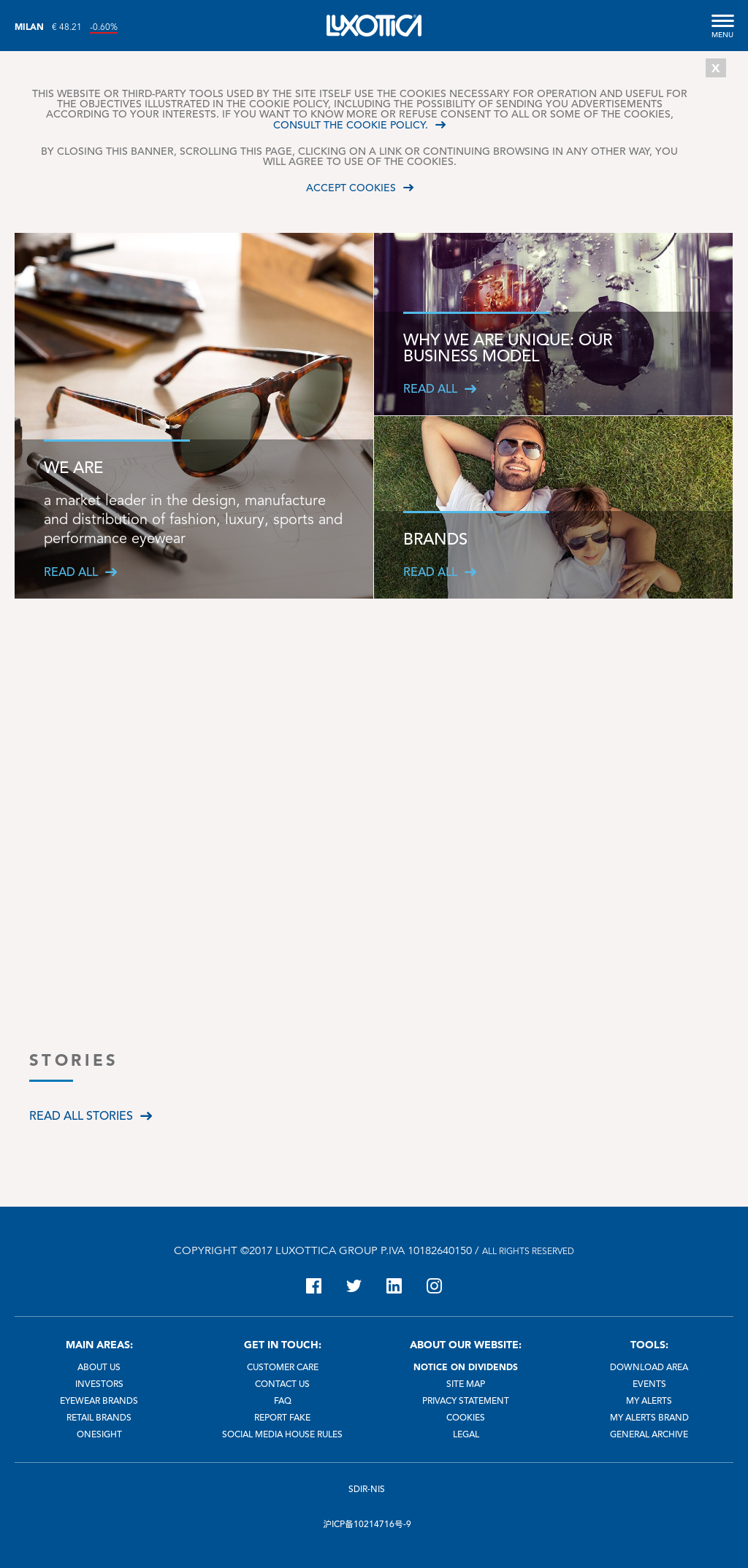 Luxottica Competitors, Revenue and Employees - Owler Company Profile