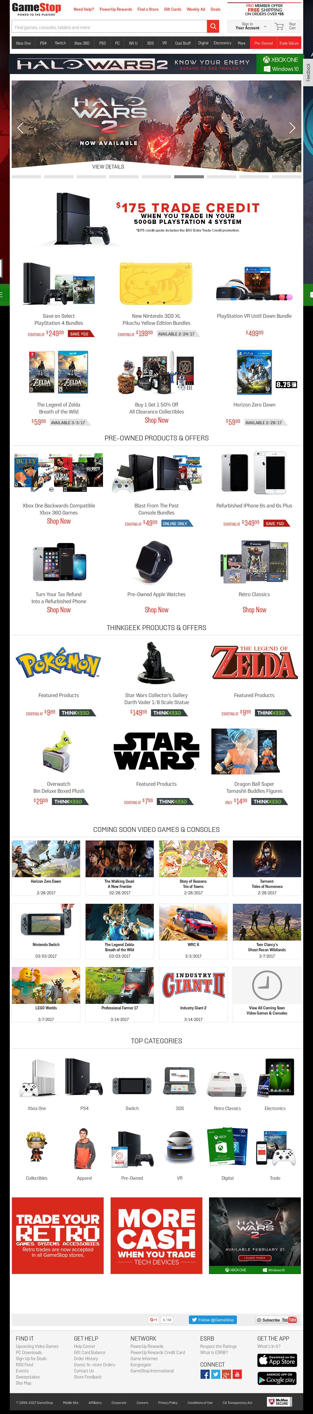 GameStop Competitors, Revenue and Employees - Owler Company Profile