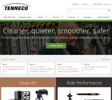 Tenneco Competitors Revenue And Employees Owler Company Profile