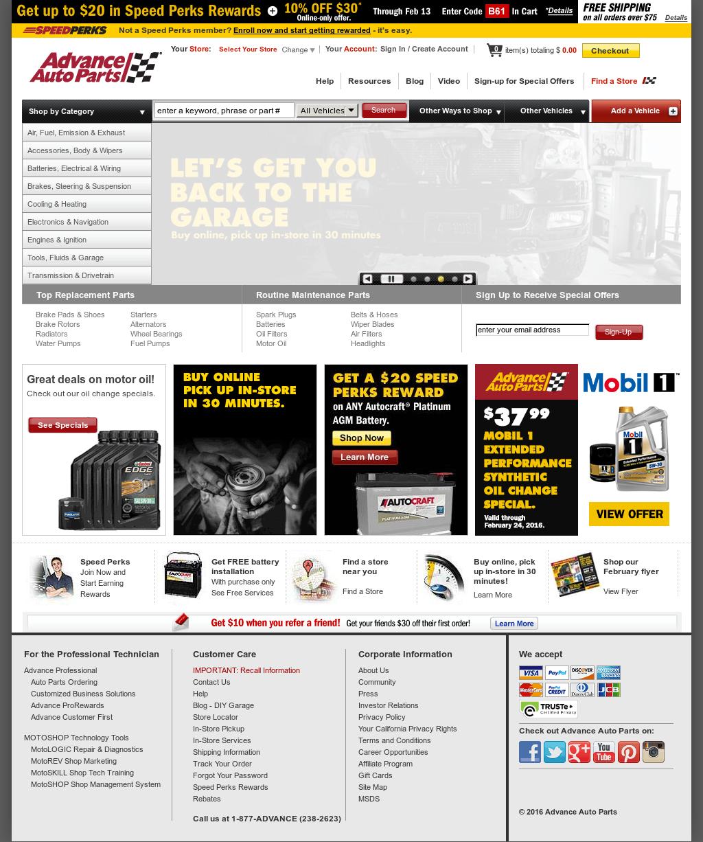 20043bcb3e507 Advance Auto Parts Competitors