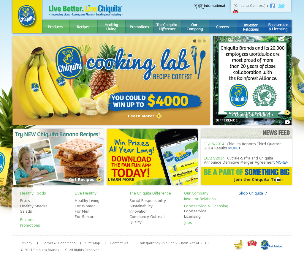 Chiquita Competitors Revenue And Employees Owler Company Profile