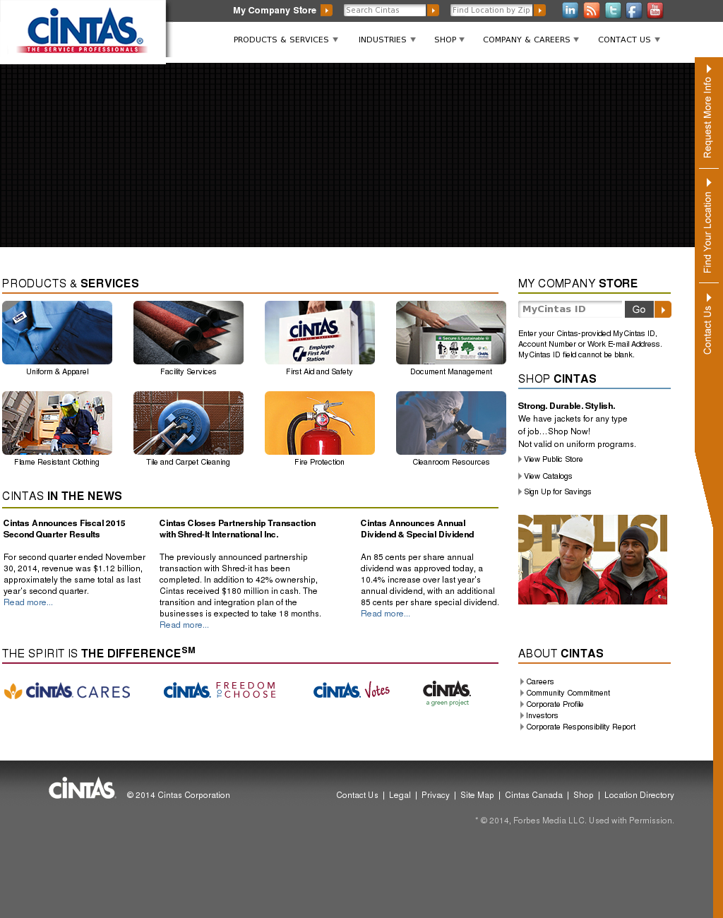 Cintas Competitors, Revenue and Employees - Owler Company Profile