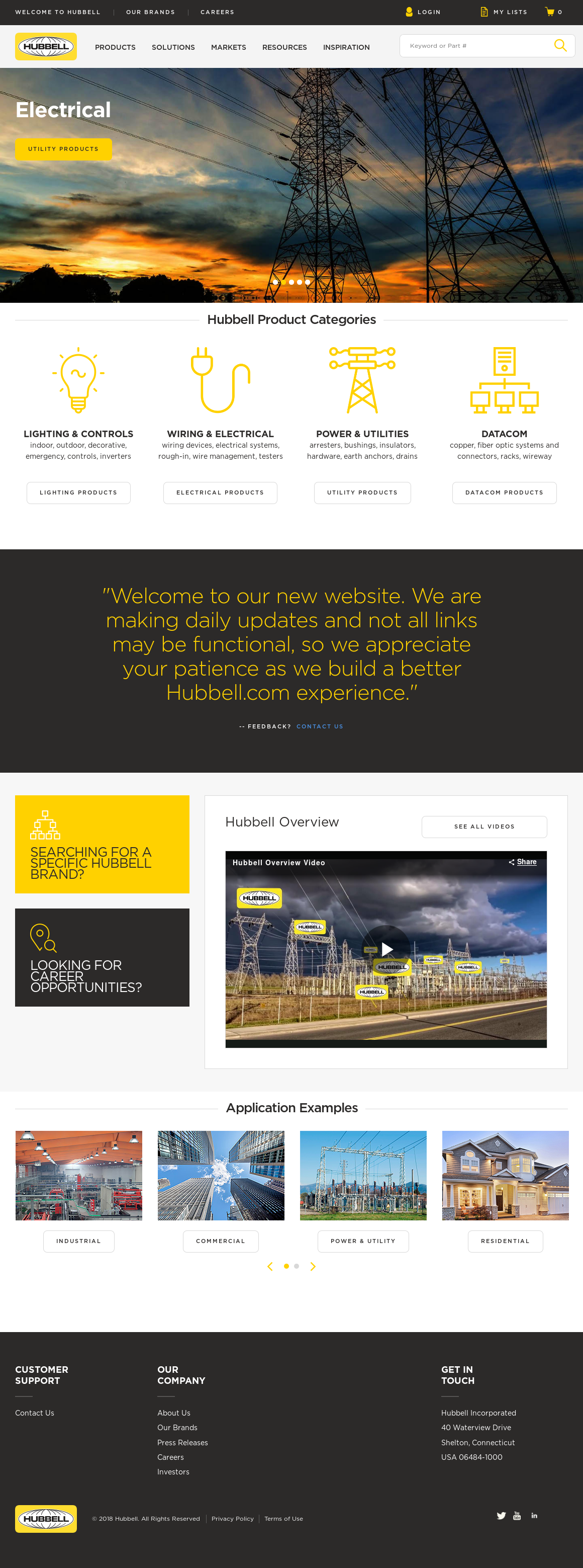 Hubbell website history  sc 1 st  Owler & Hubbell Competitors Revenue and Employees - Owler Company Profile