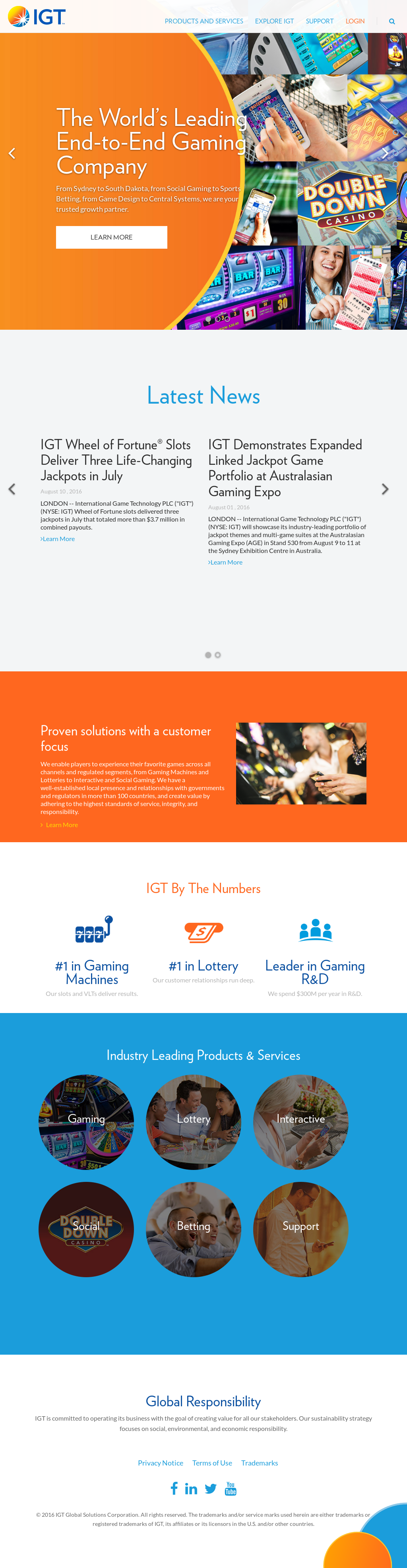 IGT Competitors, Revenue and Employees - Owler Company Profile