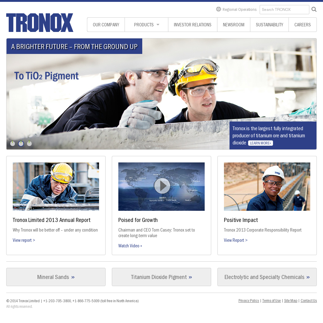 Tronox Competitors, Revenue and Employees - Owler Company Profile