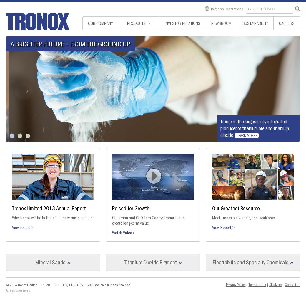 Tronox Competitors, Revenue and Employees - Owler Company Profile