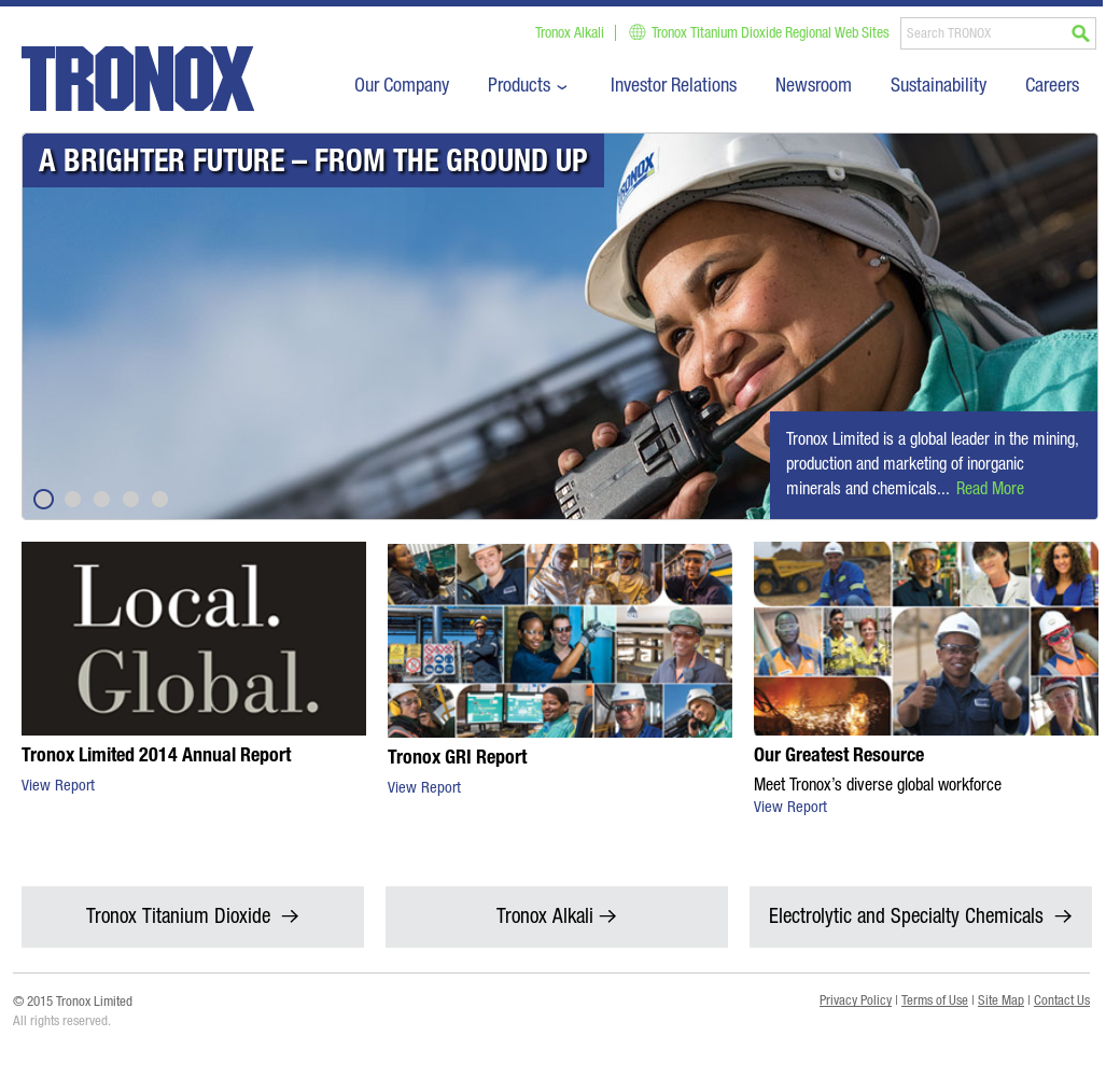 Tronox Competitors, Revenue and Employees - Owler Company