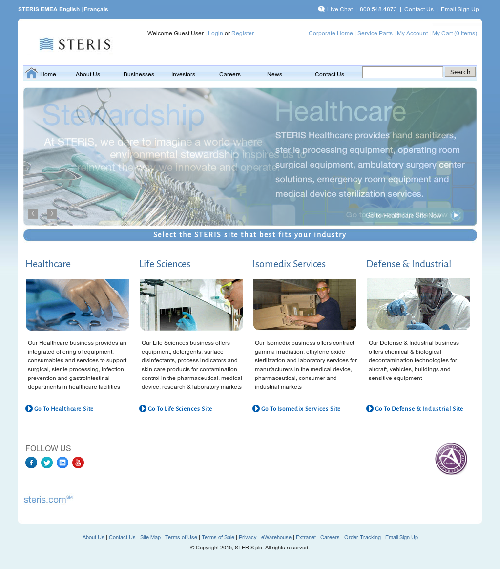 STERIS Competitors, Revenue and Employees - Owler Company Profile