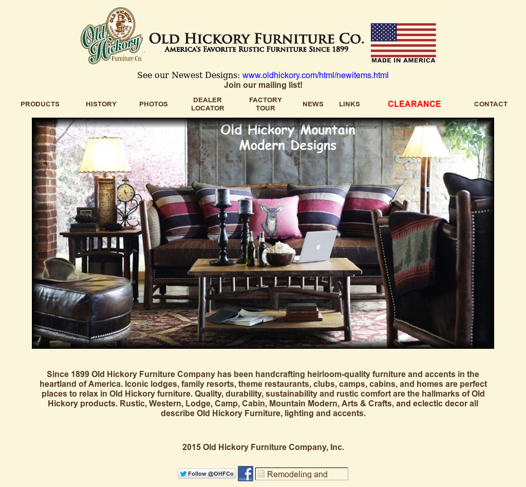 Old Hickory Furniture Company Compeors Revenue And Employees Owler Profile