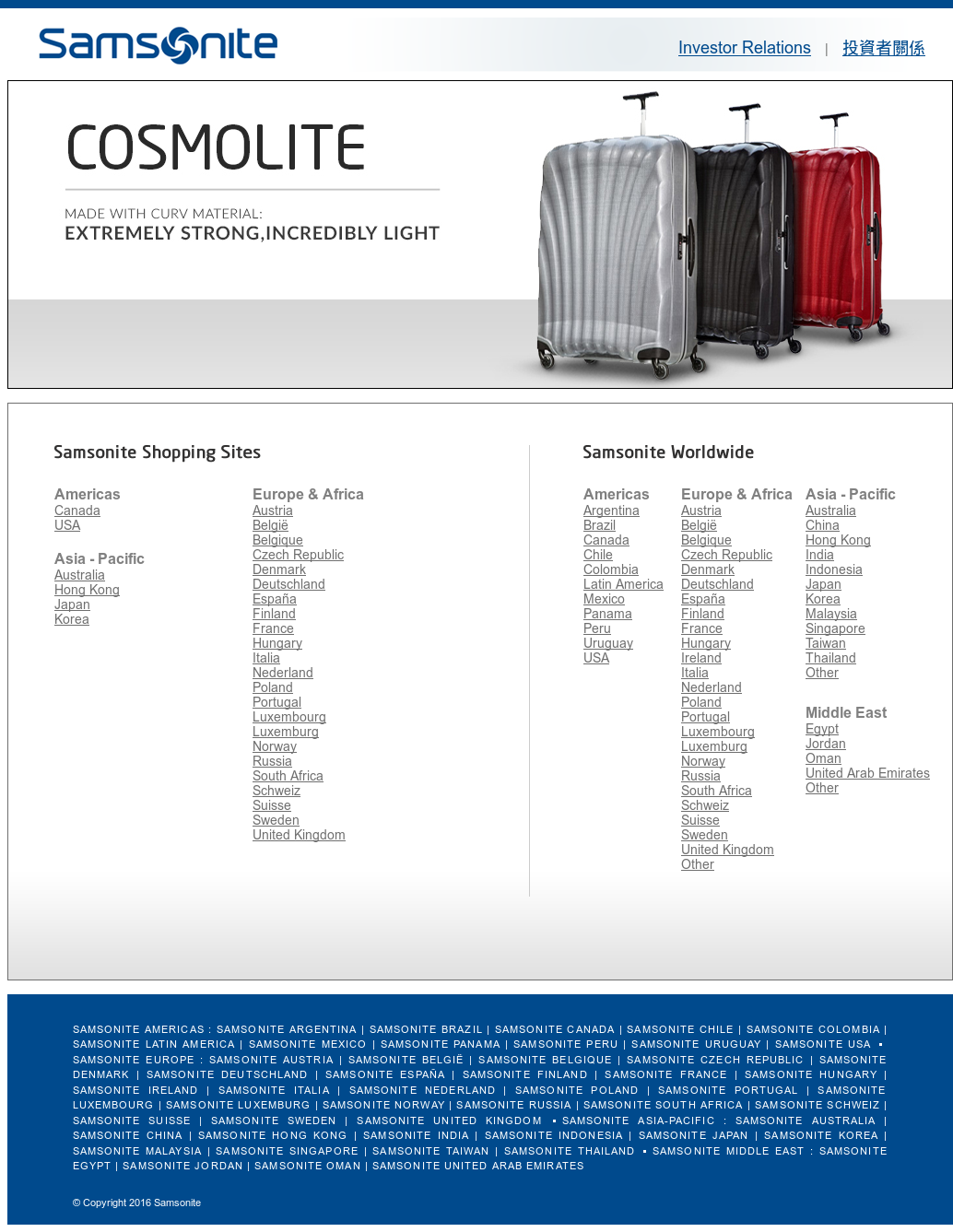 Samsonite Competitors 9cd7d5ecbd4