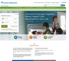 Kaiser Permanente website history