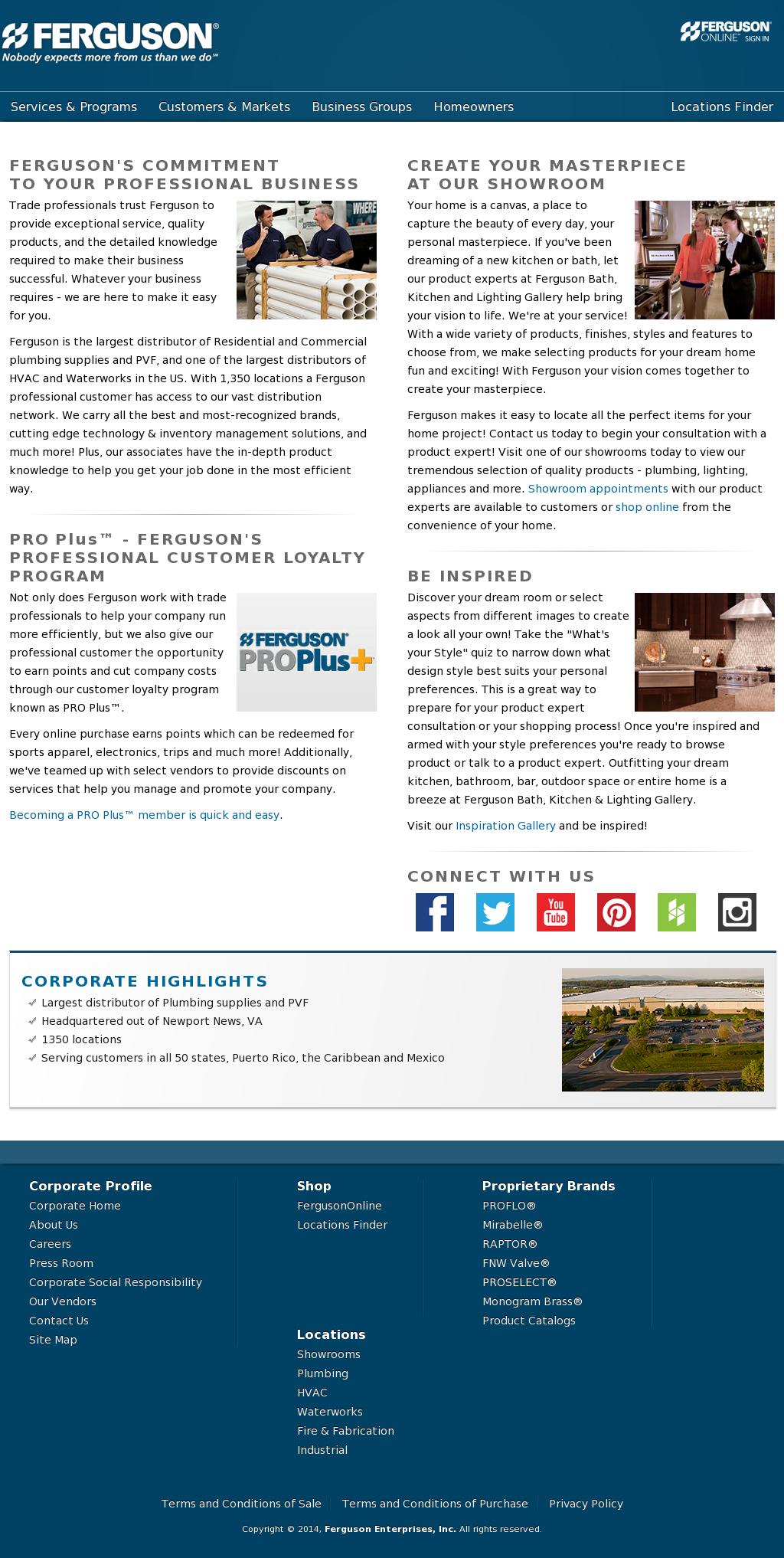 Ferguson Enterprises Competitors, Revenue and Employees - Owler ...