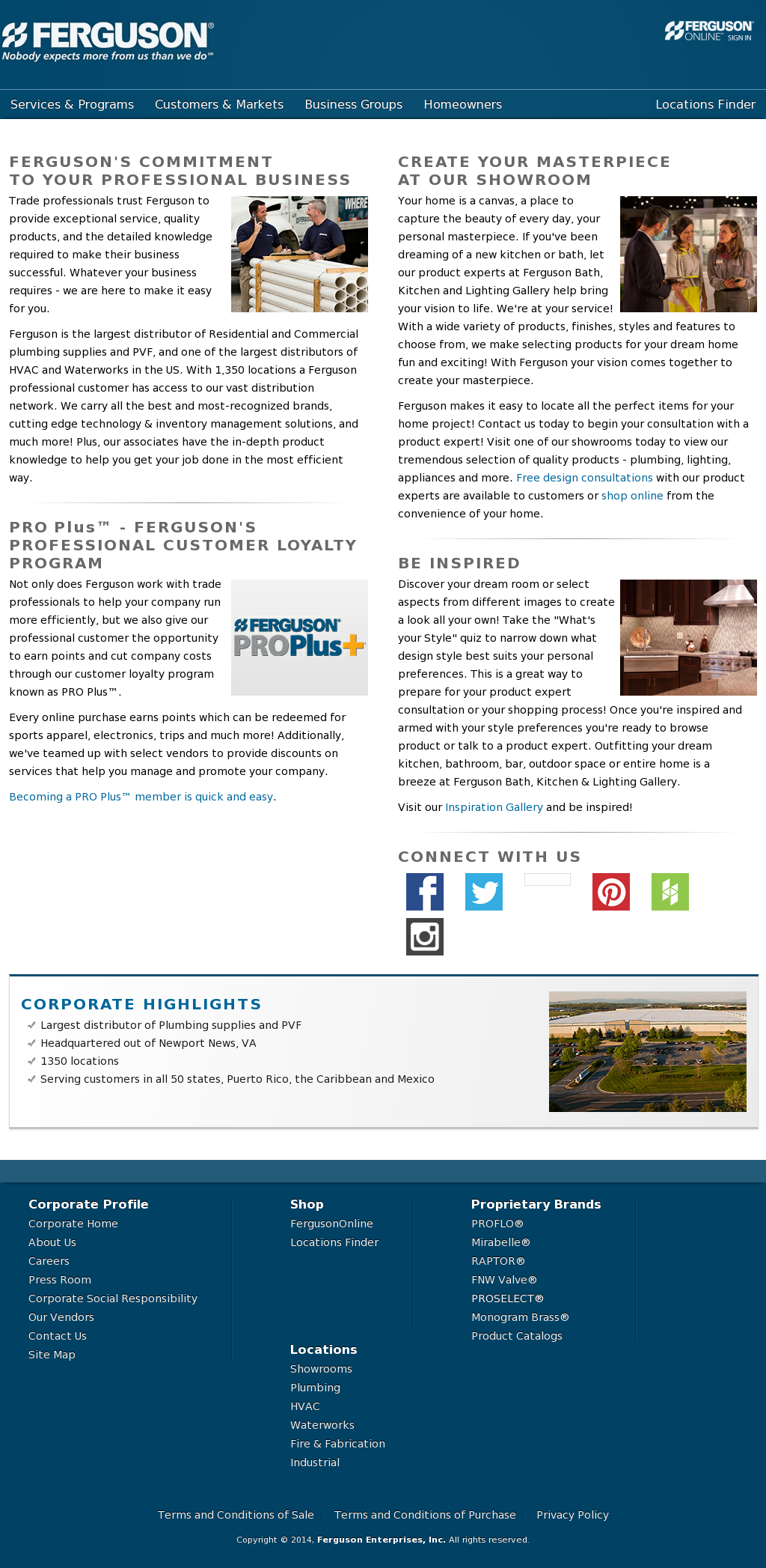 Ferguson Enterprises Company Profile - Revenue, Number of ...