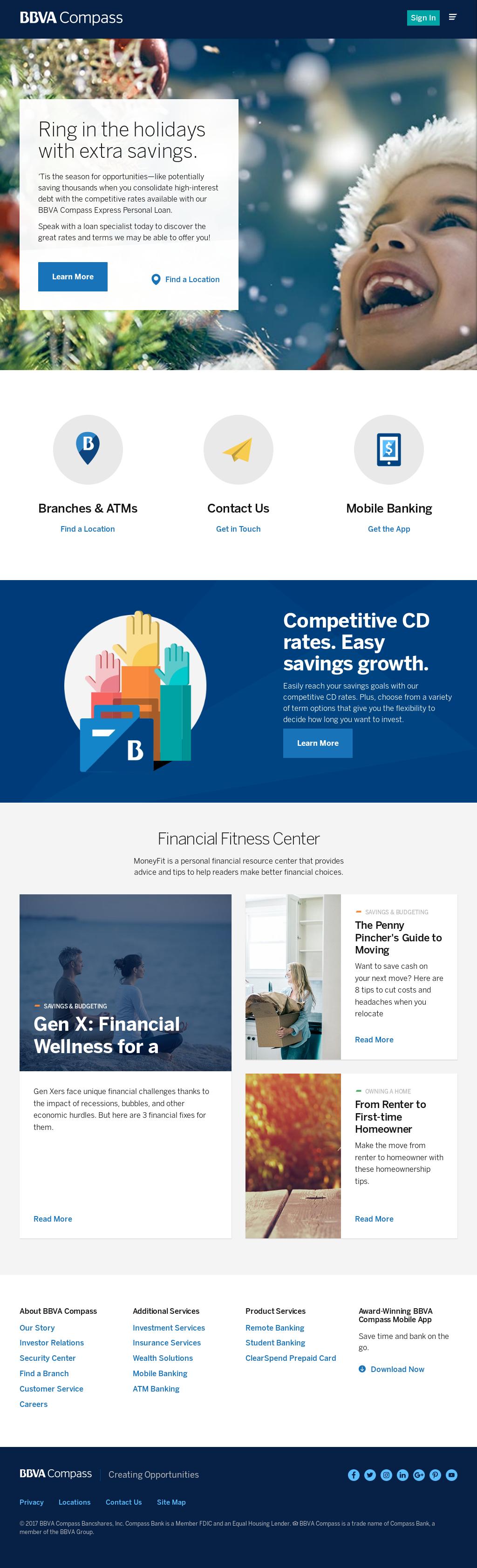 BBVA Compass Competitors, Revenue and Employees - Owler Company Profile