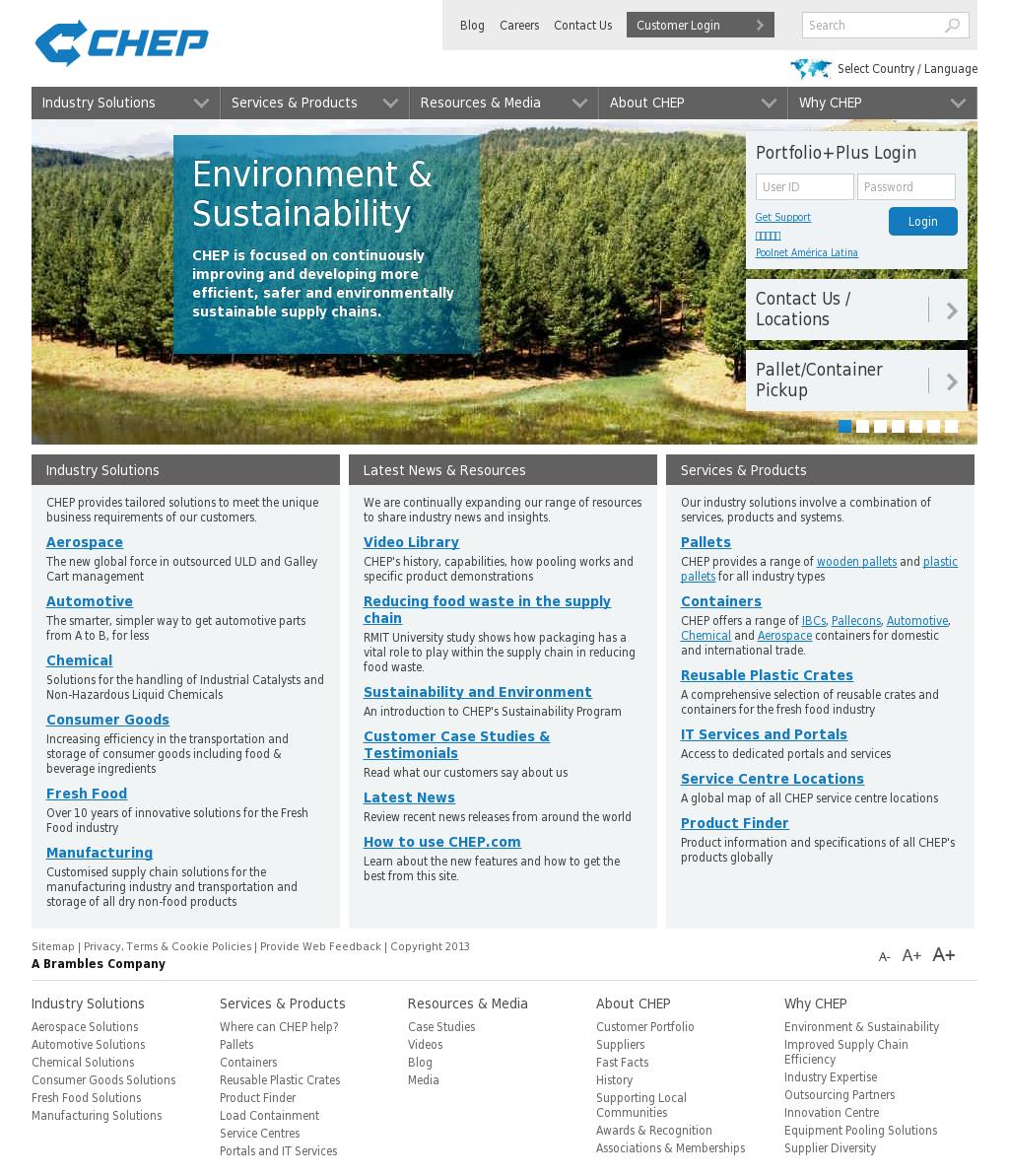 CHEP Competitors, Revenue and Employees - Owler Company Profile