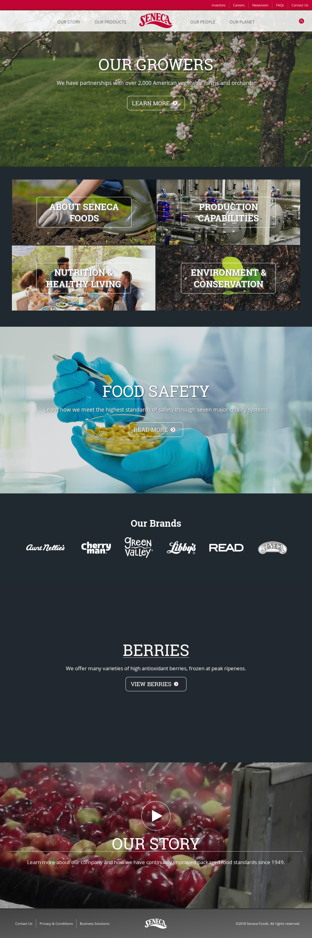 Seneca Foods Corporation New York