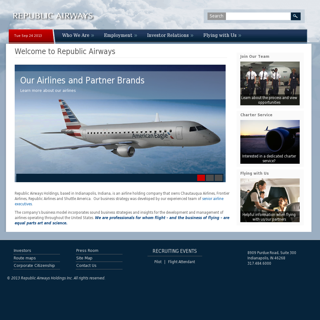 Republic Airways Competitors, Revenue and Employees - Owler Company ...
