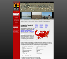 Holland Roofing Website History