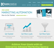 Kuno Creative website history