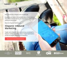 Target Latino website history