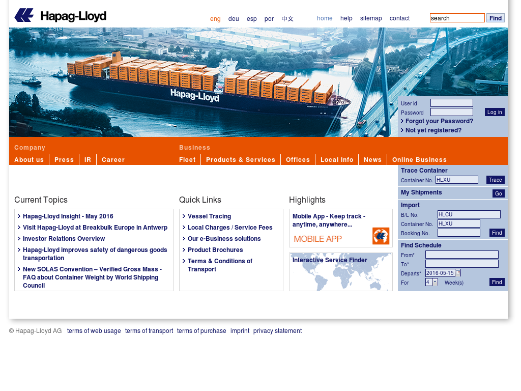 Hapag-Lloyd Competitors, Revenue and Employees - Owler
