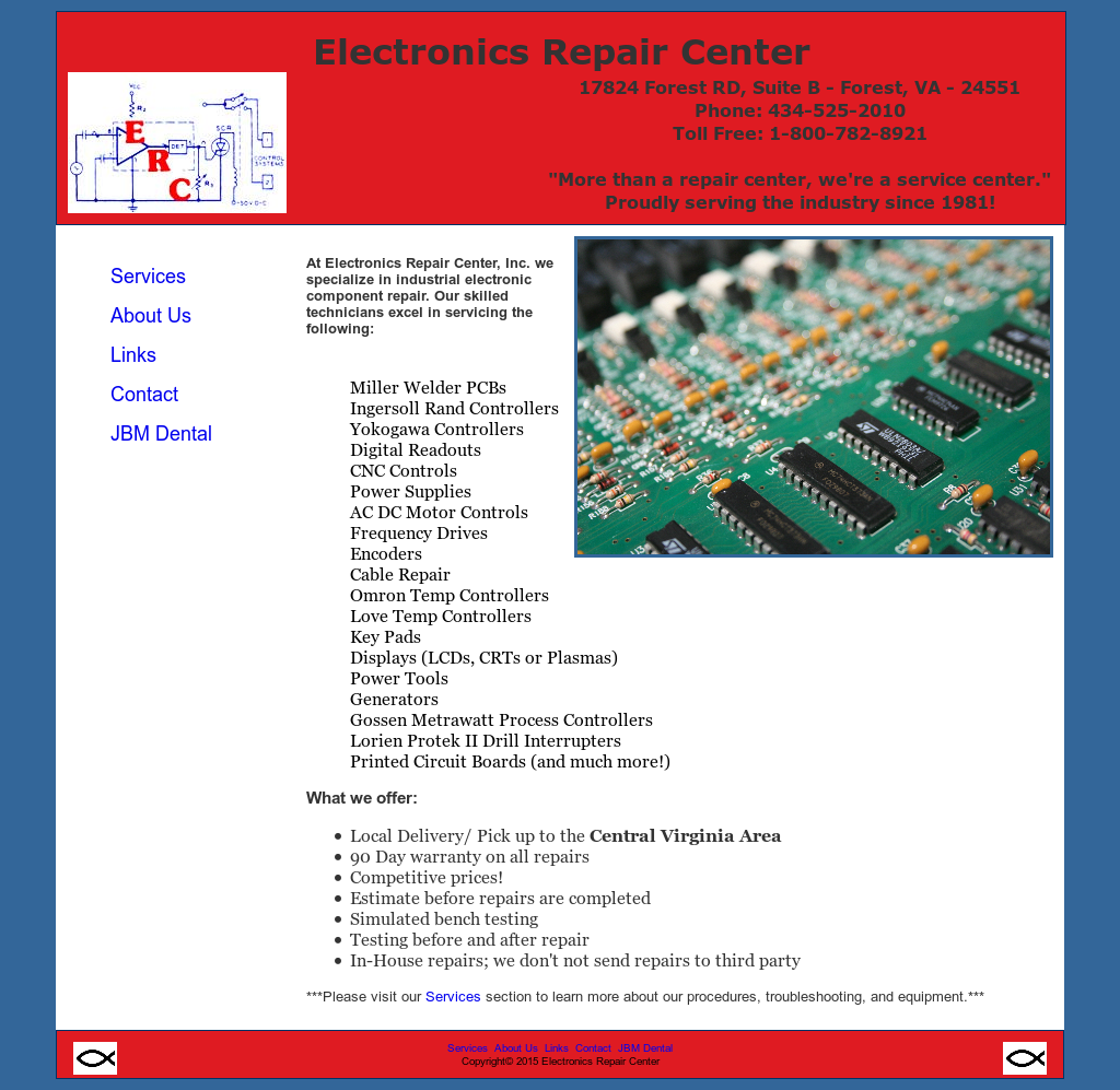 electronics repair center competitors revenue and employees owler