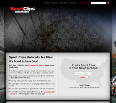 Sport Clips website history