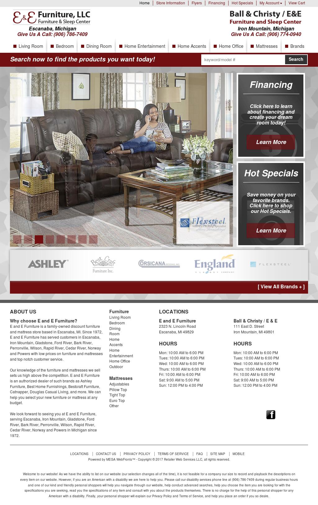 Etonnant E U0026 E Furniture Website History