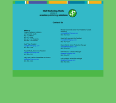 Creative Publishing Solutions website history